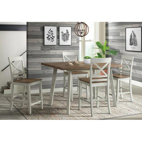 Elements - El Paso 5-Piece Counter Height Dining Set