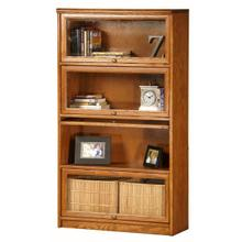 Oak Promo 4-Door Lawyer Bookcase