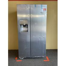 See Details - Frigidaire Gallery Stainless Steel Side by Side Refrigerator