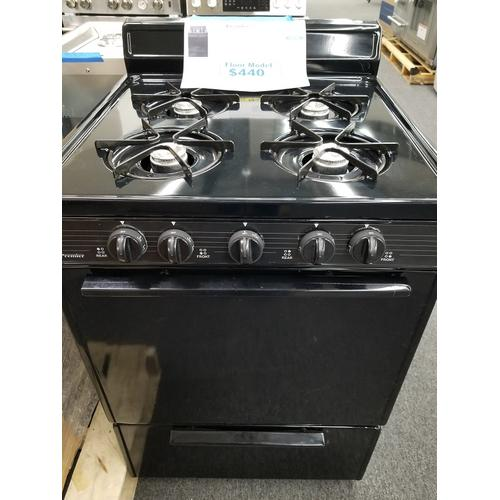 "Premier 24"" Freestanding Gas Range BCK100BP (FLOOR MODEL)"