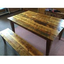Spruce Wood Dining Table
