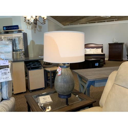 Textured Table Lamp - CLEARANCE
