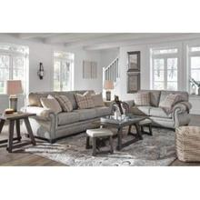 Ashley 487 Olsberg Steel Sofa and Love