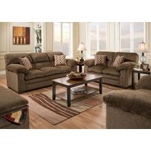 UNITED 3683G Harlow Chestnut Group Sofa, Loveseat & Recliner