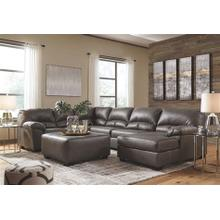 View Product - 3-piece Sectional With Ottoman