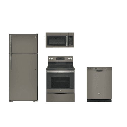GE Slate 4 Piece Kitchen