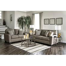 "CALICO CASHMERE 6 PC LIVING ROOM INCLUDES A 50"" SAMSUNG TV"