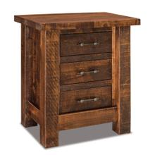 See Details - Houston 3 drawer nightstand