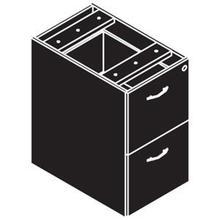 Amber - File File Pedestal
