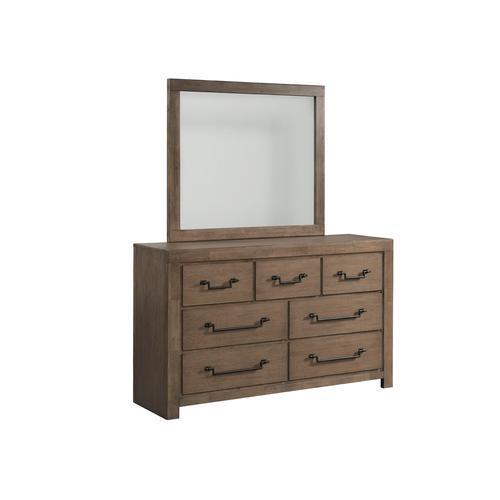 1054 Urban Swag Dresser and Mirror