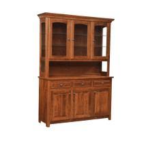 See Details - Silverton Amish Custom 3 Door Hutch