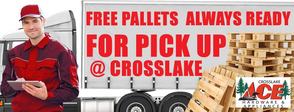 Free Pallets Always  Ready For Pick Up