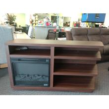 Classic Flame Stanton Birch TV Stand with Electric Fireplace