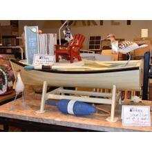 Unique boat table.