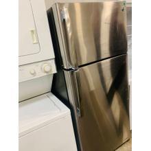 See Details - USED- GE® ENERGY STAR® 15.5 Cu. Ft. Top-Freezer Refrigerator -TMSS28-U SERIAL #50