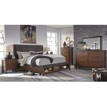 Ralene Bookcase Bedroom Set