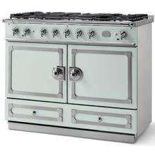 Tapestry Cornufe 110 with Satin Chrome Accents