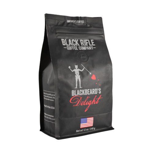 Black Rifle Coffee Company - Blackbeard's Delight 12oz Ground Bag