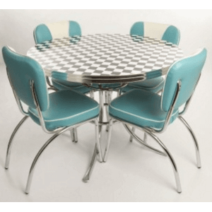 West Side Round Table & Chairs