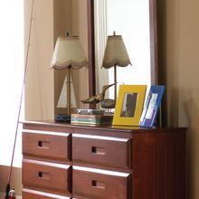 Merlot 6 Drawer Dresser