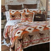 Queen Free Rein 5 PC. Bedding Set