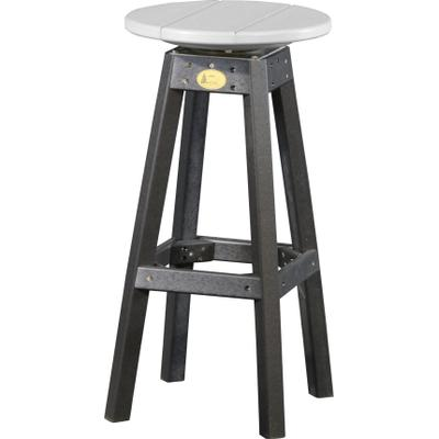 Bar Stool Dove Gray and Black