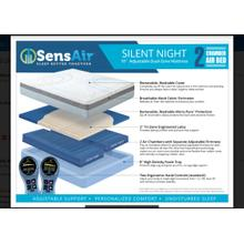 "Silent night 10""  2 chamber queen  Mattress"