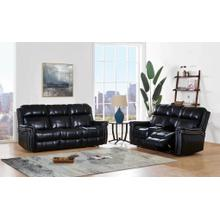 Power Reclining Sofa with Power Headrest	Blanche Black