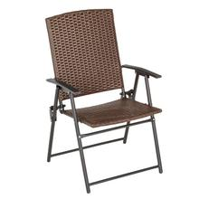 See Details - Wicker Folding Chair Collection