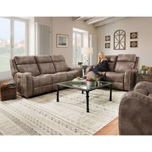 Double reclining sofa with matching reclining loveseat!!