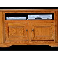 View Product - Oak Corner TV Stand