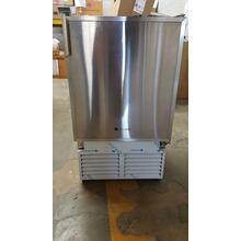 "Stainless 110V, No flange, Field reversible 14"" Under-Counter Marine Ice Maker with 12 lb. Ice Capacity / Stainless Steel"