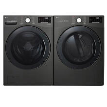 LG Smart wi-fi Enabled Front Load Washer & Electric Dryer- Open Box **Colorado Exclusive**