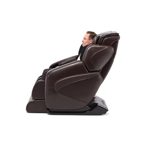 Jin (Black or Espresso) Deluxe L-Track Massage Chair w/ Zero Gravity