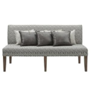 Gramercy Sofa with Seven Pillows