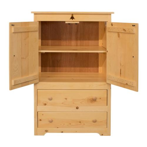 Best Craft Furniture - BW668 Armoire with Tree Cutout