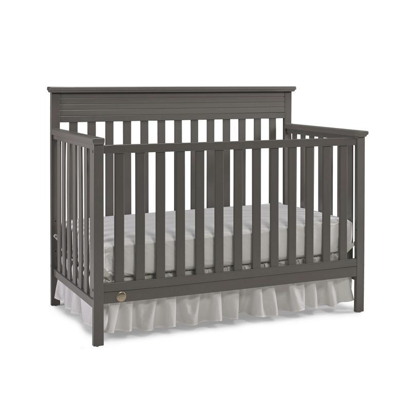 View Product - Fisher-Price Newbury Convertible Crib, Stormy Grey