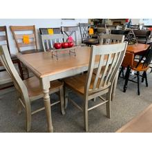 WO Barnwell 5 Piece Dining Set