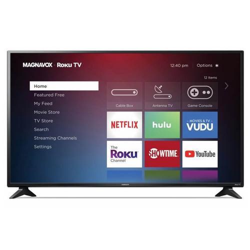 """Magnavox 55"""" 4K Ultra HD Roku TV"""