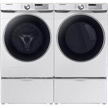 Samsung Front Load Washer & Dryer Pair - White