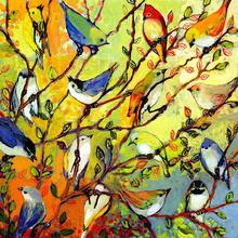 Birds of a Feather 24 x 24