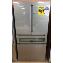 See Details - 800 Series French Door Bottom Mount Refrigerator 36'' Easy clean stainless steel B36CL81ENG