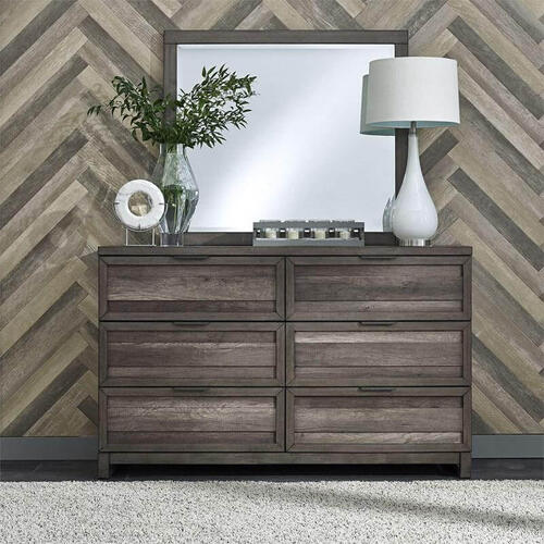 Liberty Furniture Industries - Tanners Creek 6 Drawer Dresser
