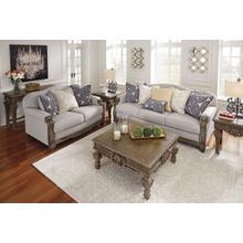 Sofa & Loveseat Set in Slate