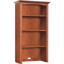 "24"" Wide Hutch - Glazed Antique Cherry Finish"