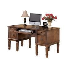 View Product - Home Office Storage Desk, Medium Brown