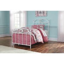 See Details - Ashley 4-Piece Full Metal Bedroom Set