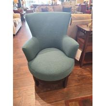 CLEARANCE Justine Swivel Chair - Peacock