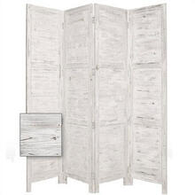 Nantucket 4 Panel Room Divider
