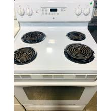 "USED- GE® 30"" Free-Standing Electric Range- E30WHCOIL-U SERIAL #12"